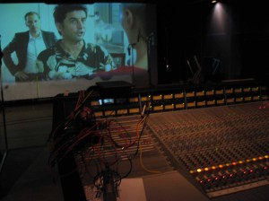re-dubbing - recording board