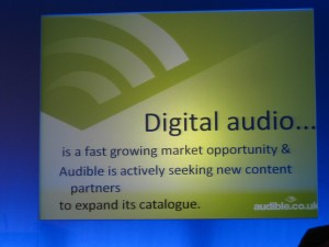 Ebook info slide - audible
