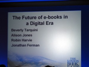 The Future of ebooks - ILBF 2010