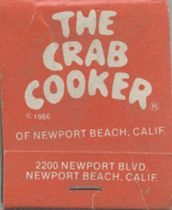 The Crab Cooker, Vincent Eaton, story, memory